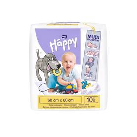 BELLAHAPPY - BABY Dětské přebalovací podložky 60 x 60 cm (10 ks)