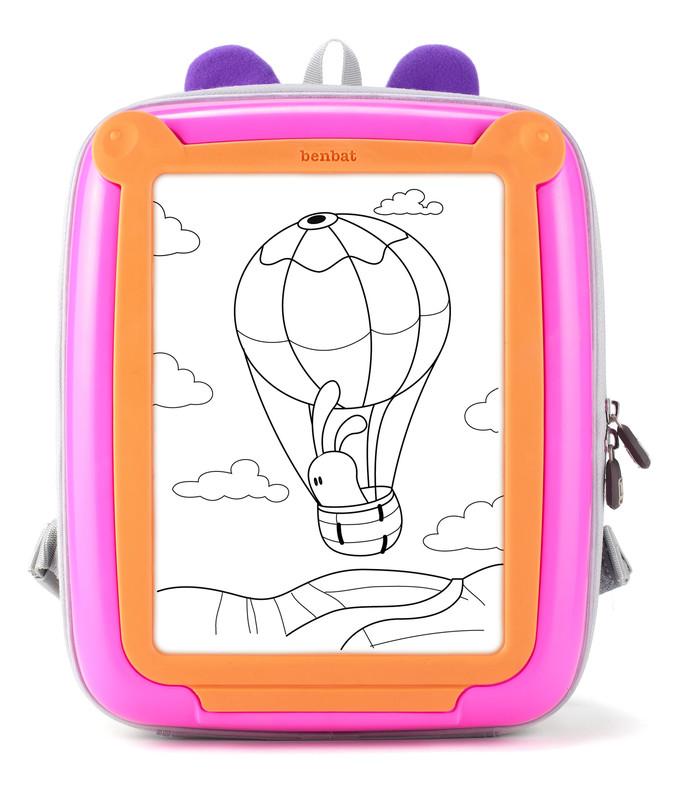 BENBAT - GoVinci batůžek, Pink/Orange