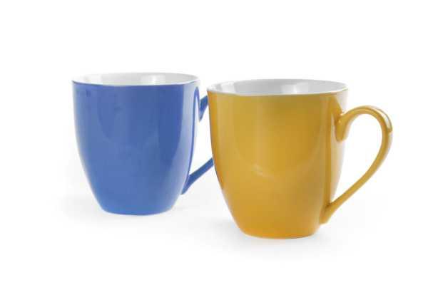 BERGNER - Hrnek sada 2 ks, 580 ml - modrá / žlutá