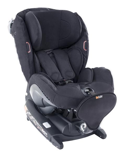 BESAFE - Autosedačka 0-18 kg iZi Combi ISOfix X4, černá klasik 64