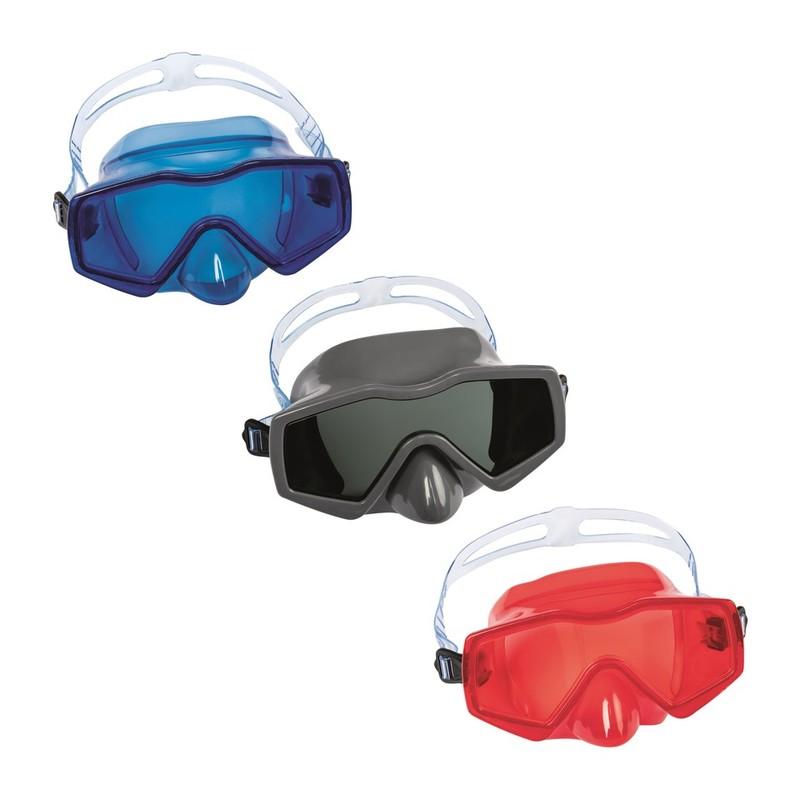 BESTWAY - 22056 Brýle potápěčské Aqua Prime 3farby - modrá