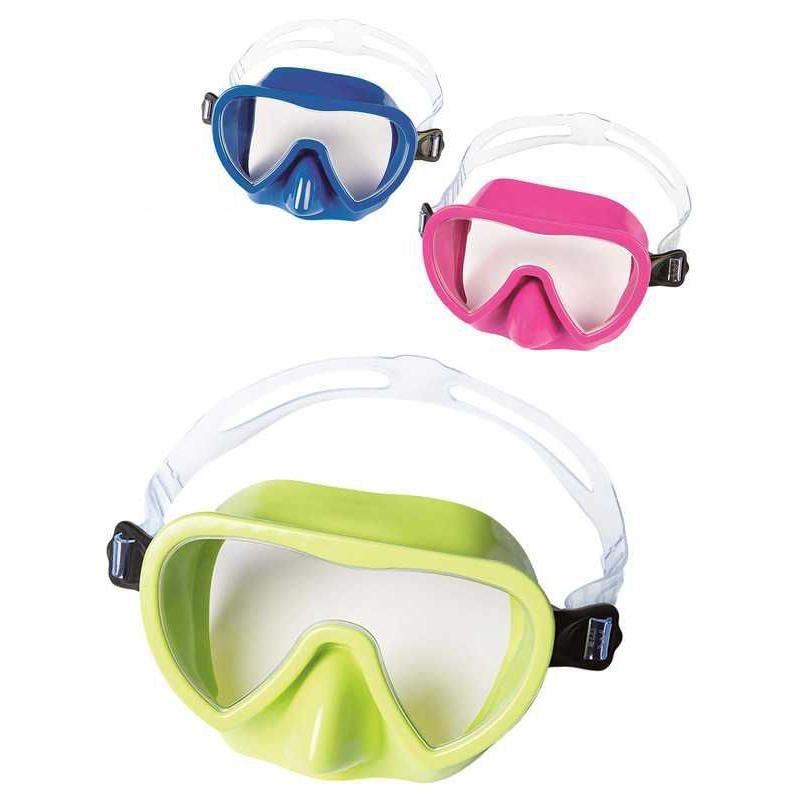 BESTWAY - 22057 Brýle potápěčské Guppy 3farby - modrá