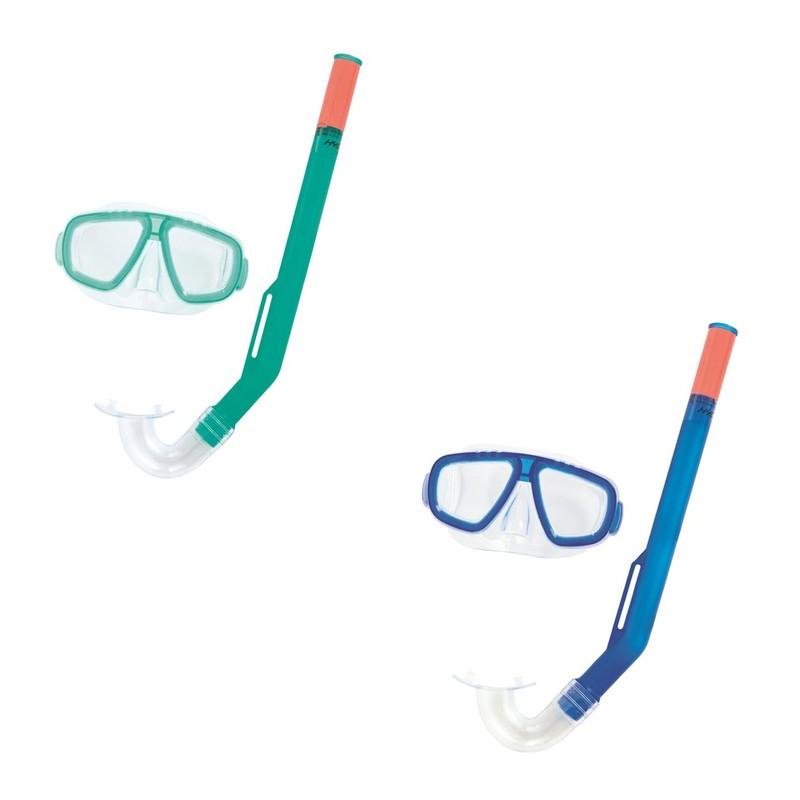 BESTWAY - 24018 Brýle potápěčské a Šnorchl Fun - modrá