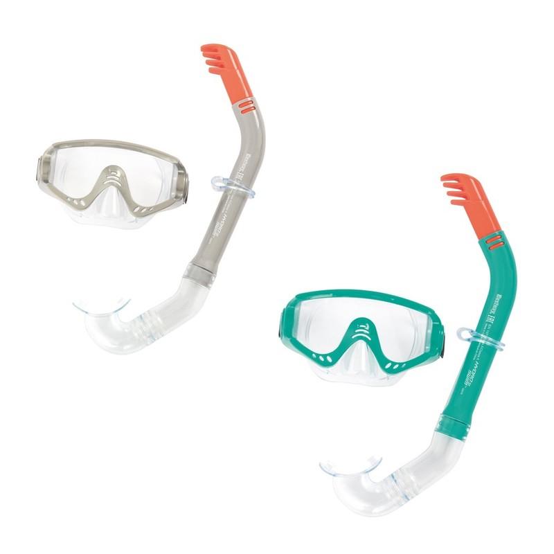 BESTWAY - 24020 Brýle potápěčské a Šnorchl Secret Bay - šedá