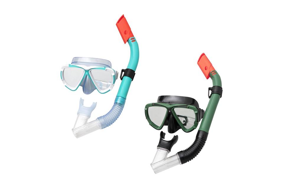 BESTWAY - 24053 Brýle potápěčské a Šnorchl Dive Mira - zelená