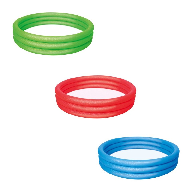 BESTWAY - 51027 Bazén nafukovací jednofarebný183x33cm - modrá