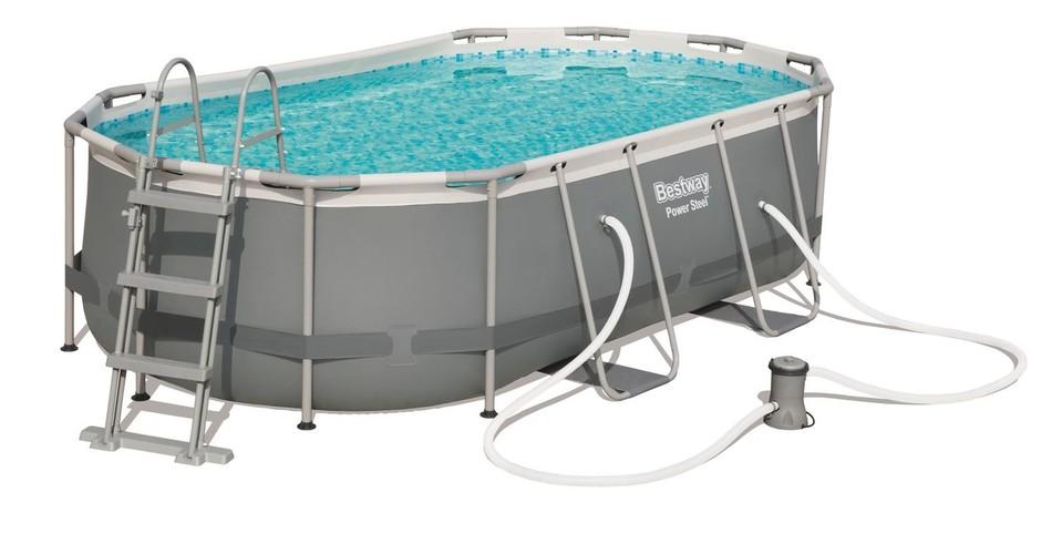 BESTWAY - 56620 Bazén Steel Frame Pool 424x250x100cm