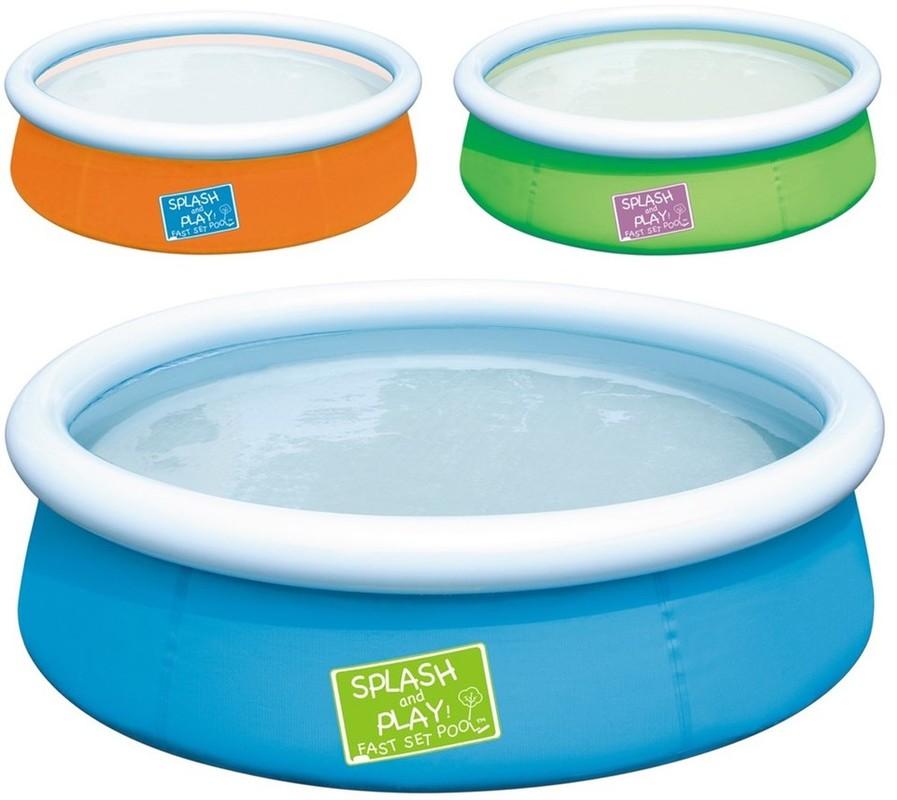 BESTWAY - 57241 Můj první Splash and Play bazén zelený
