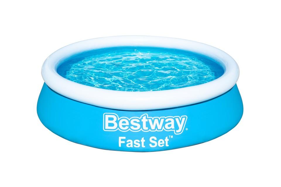 BESTWAY - 57392 Bazén nafukovací Fast Set 1,83mx51cm