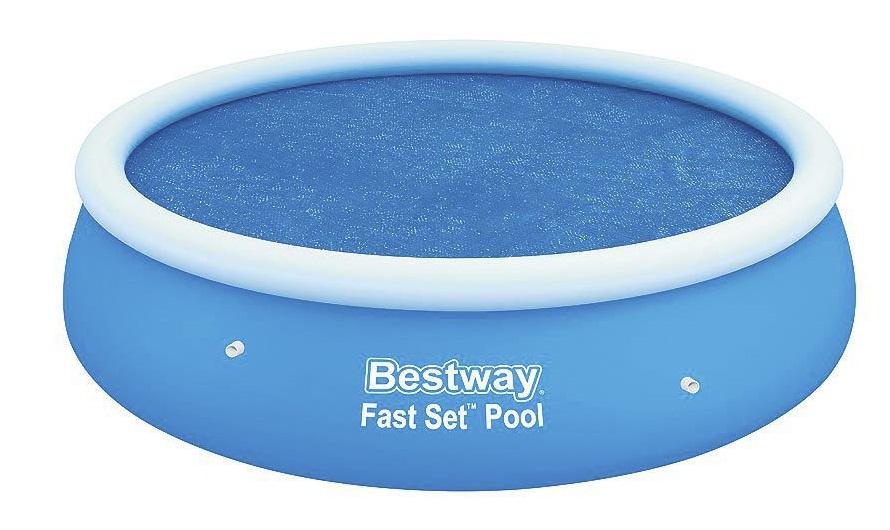 BESTWAY - 58060 Solární bazénová plachta 244x66cm
