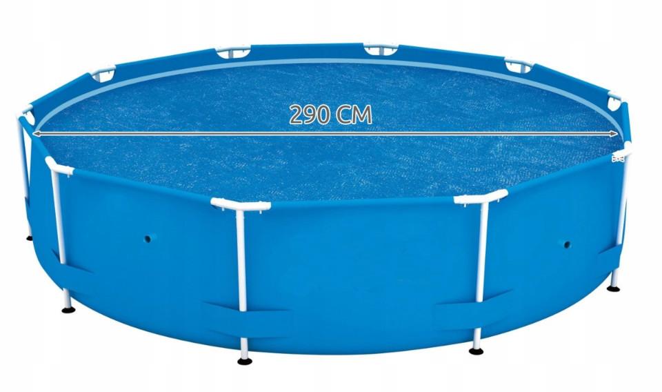 BESTWAY - 58241 solární plachta na bazén s konstrukcí 3,05m