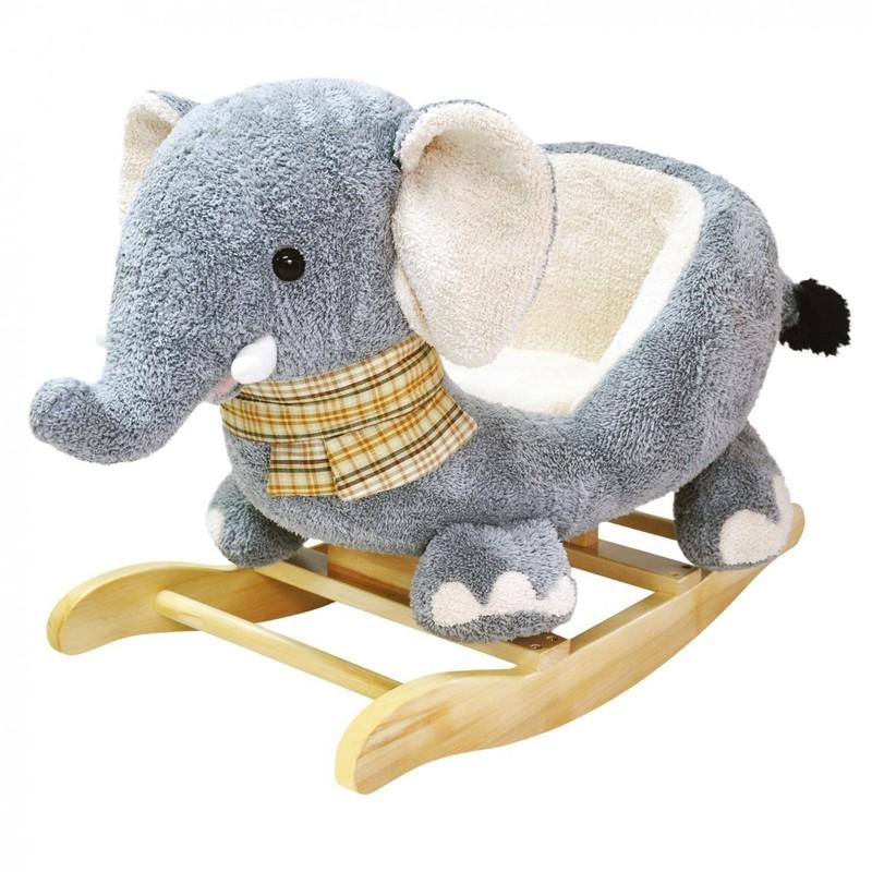 BINO - 82547 Houpací plyšový sloník