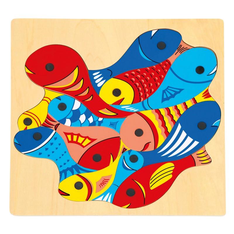 Bino - 82737 Rybičky s udičky - puzzle