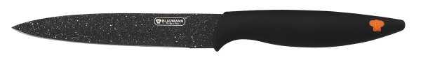 BLAUMANN - Kuchyňský nůž 12,5 cm - černý, BL-2058