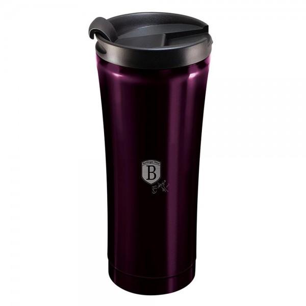 BLAUMANN - Termohrnek 0,5l Purple Eclips, BH-6816