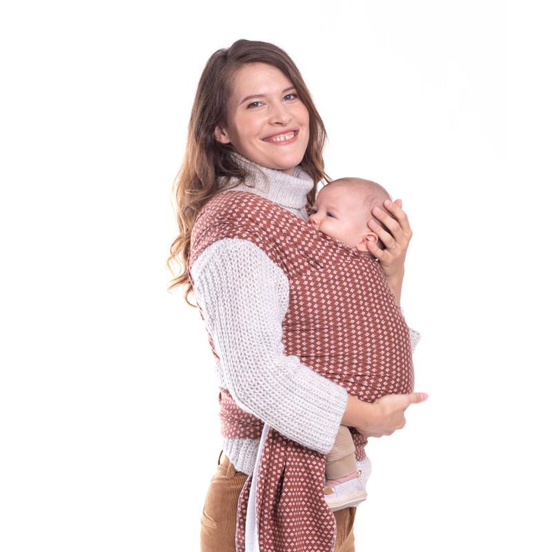BOBA - Nosič dětí / šátek Boba Wrap Print Hali