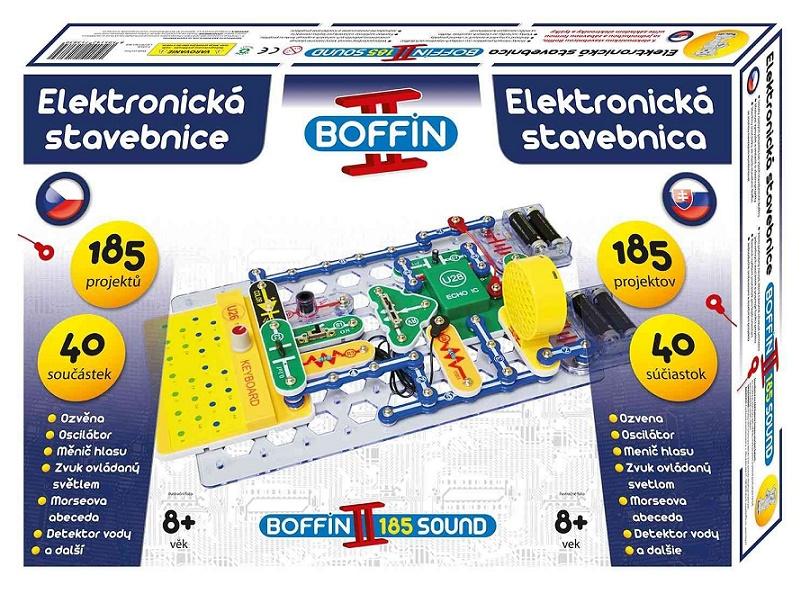 BOFFIN - Elektronická stavebnice Boffin II 185 Sound