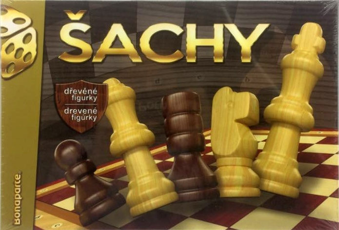 BONAPARTE - Šachy dřevěné v krabici