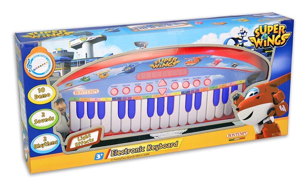 BONTEMPI - dětské elektronické klávesy 123169 Super Wings