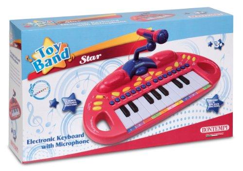 BONTEMPI - dětské elektronické klávesy s mikrofonem MK1830.2