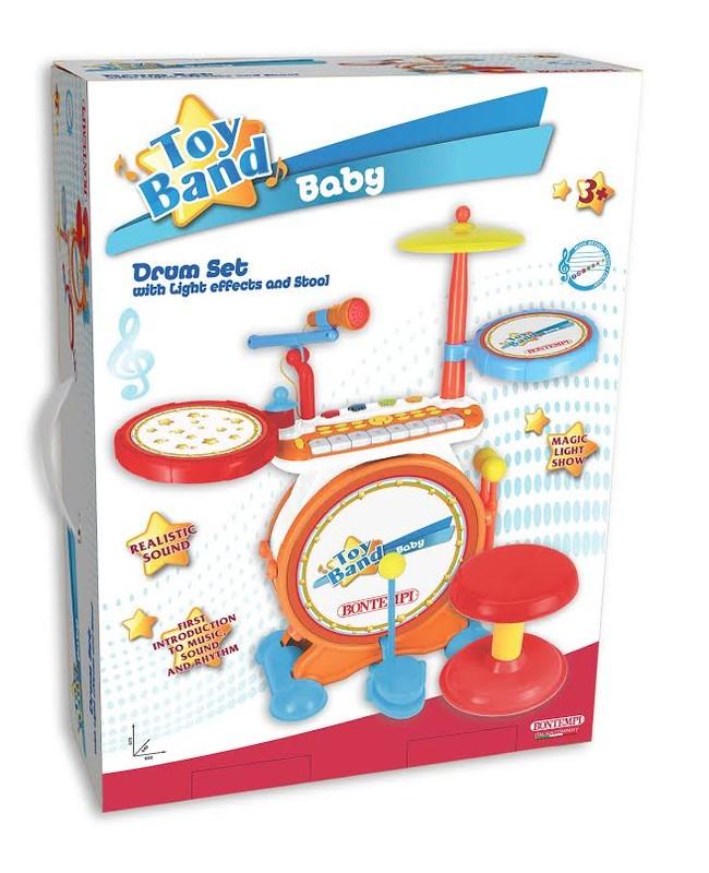 BONTEMPI - Digitální bicí souprava s klávesami 524025