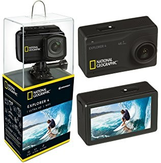 BRESSER - National Geographic Kamera 4K Ultra HD 30fps Wifi Action