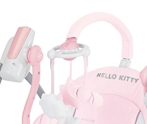 BREVI - Miou 559 Houpací křesílko Hello Kitty