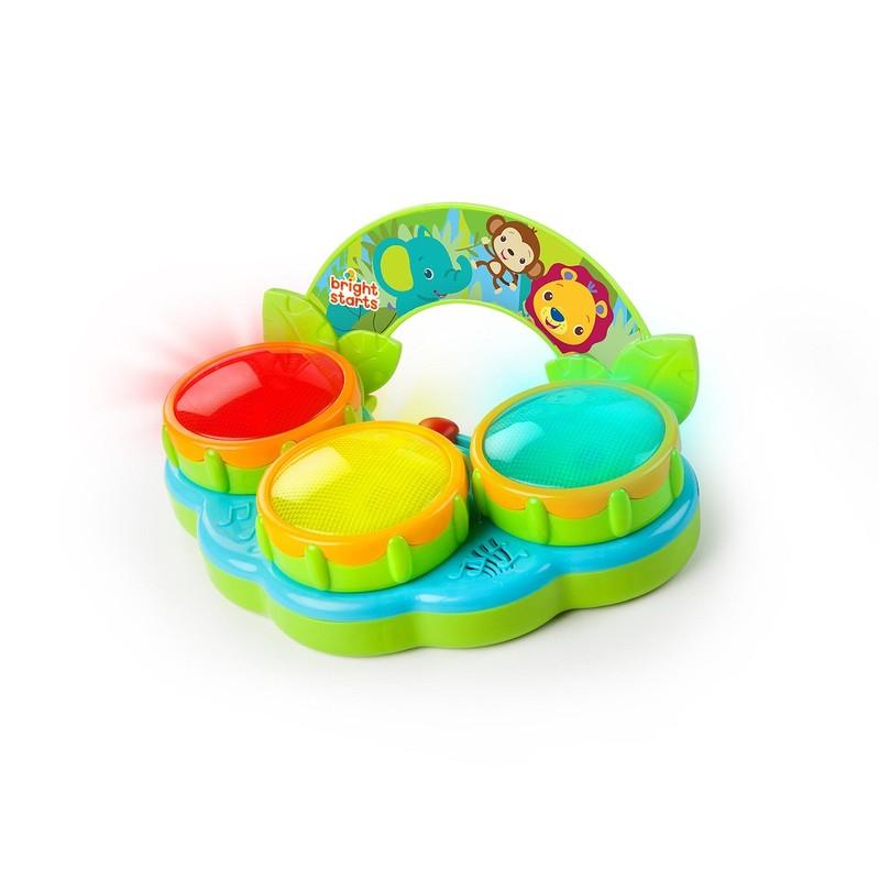 BRIGHT STARTS - Hračka bubny Safari Beats™ 3m+