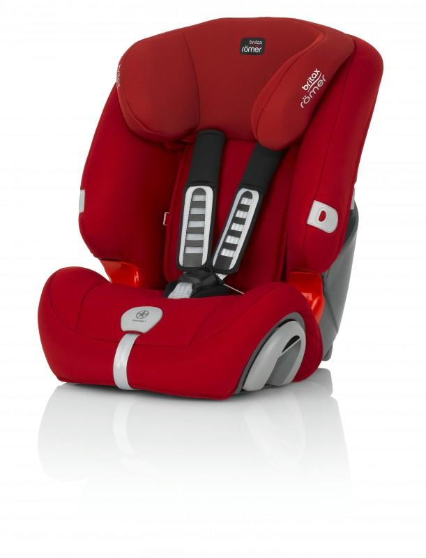BRITAX - Autosedačka Evolva 123 PLUS, 9-36 kg, 2016, Flame Red