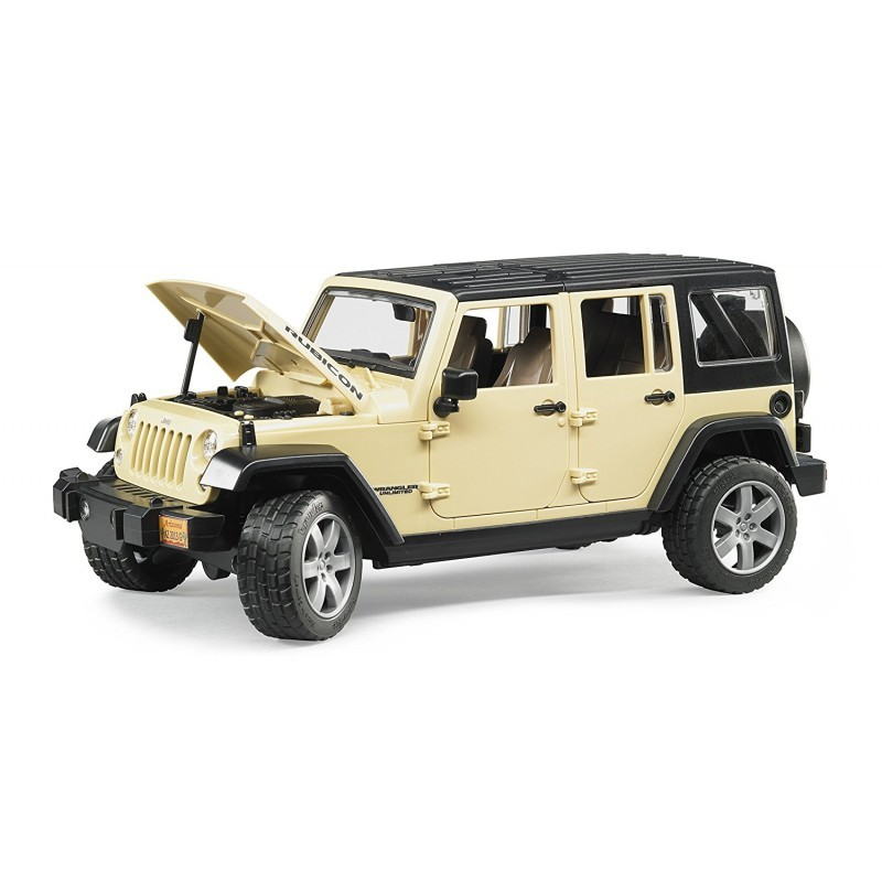 BRUDER - 02525 Jeep Wrangler Rubicon