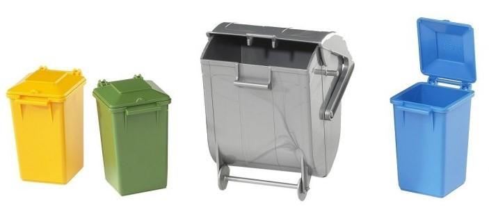 BRUDER - 02607 Sada nádob na smetí