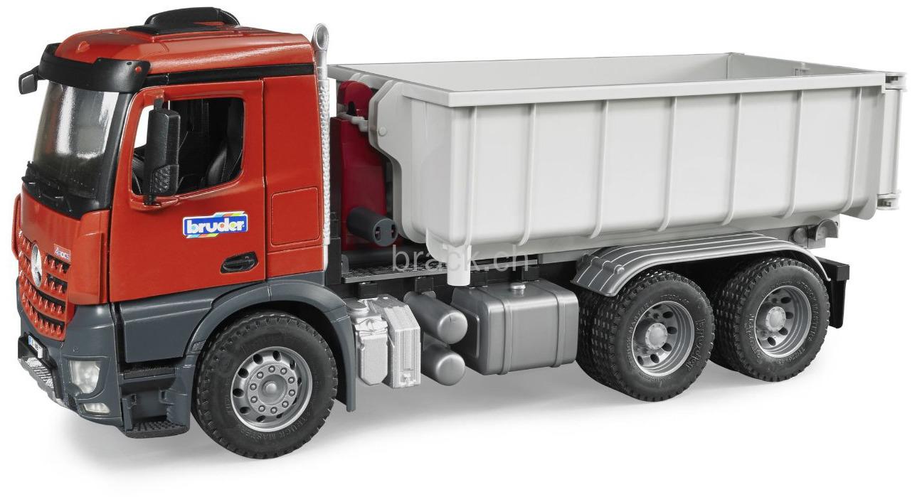 BRUDER - 03622 Mercedes Benz LKW s kontejnerem