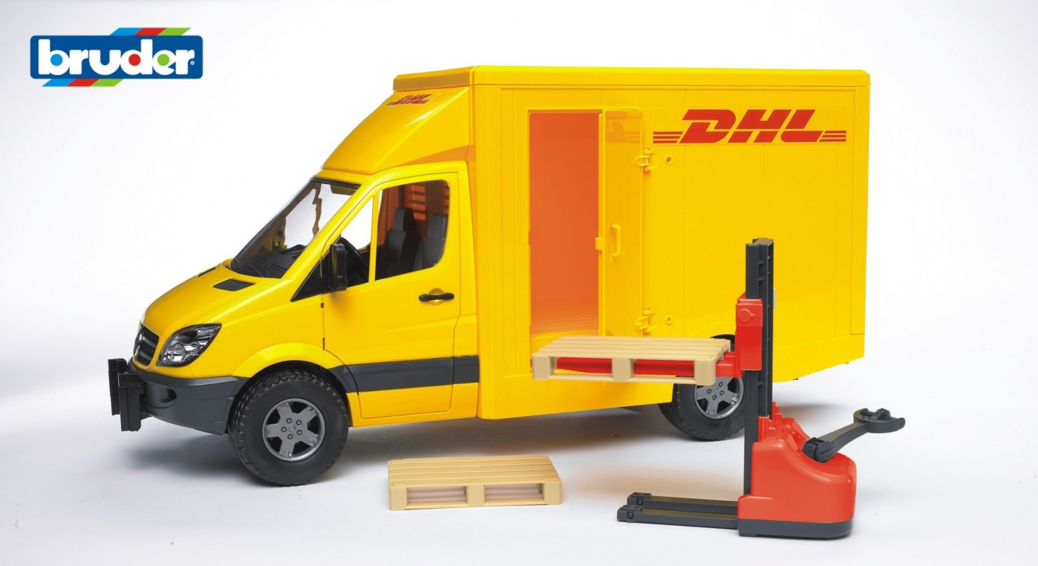 BRUDER - DHL transportér Mercedes Benz Sprinter