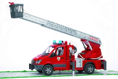 BRUDER - Hasičské a záchranářské auto Mercedes Benz Sprinter