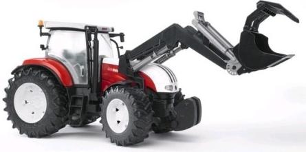 BRUDER - Traktor STEYR CVT 6230 s nakladačem