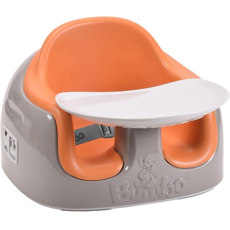 """BUMBO - Sedadlo ,, Bumbo Multi Seat """" - hnědá-oranžová"""