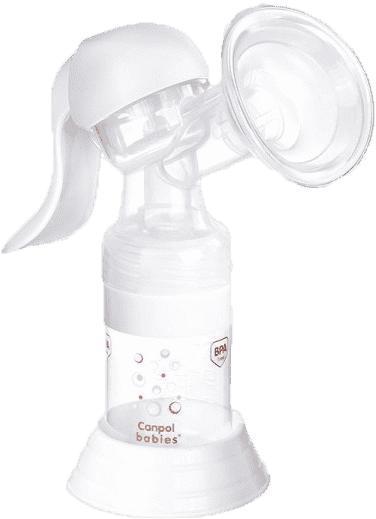 CANPOL BABIES - Odsávačka materského mlieka ručná Basic