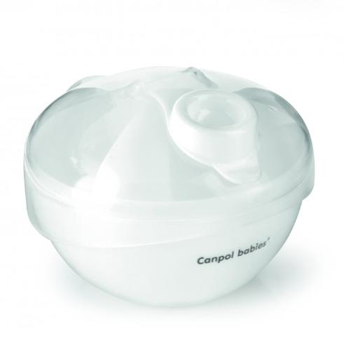 CANPOL BABIES - Zásobník na sušené mléko - bílý