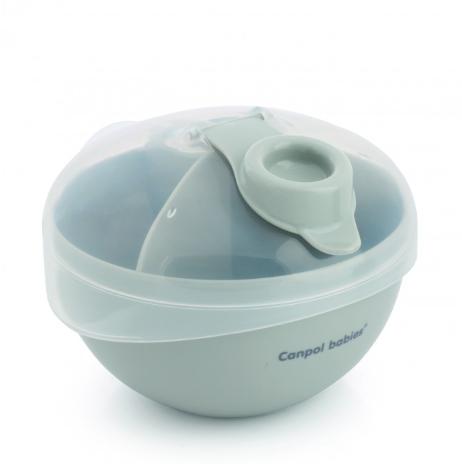 CANPOL BABIES - Zásobník na sušené mléko - šedý