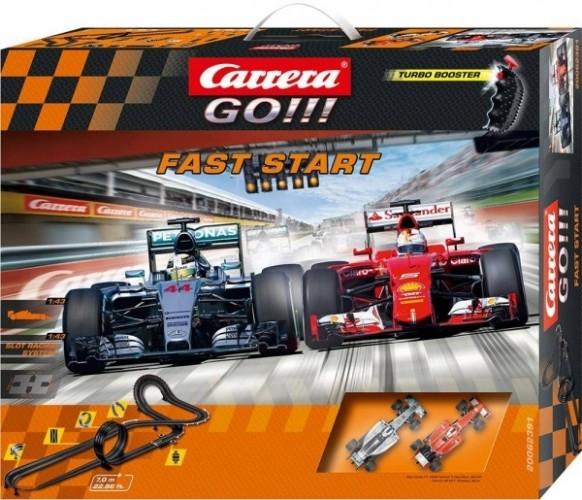 CARRERA - Autodráha Carrera GO 62391 Fast Start
