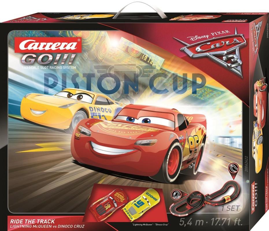 CARRERA - Autodráha Carrera GO 62422 Cars 3