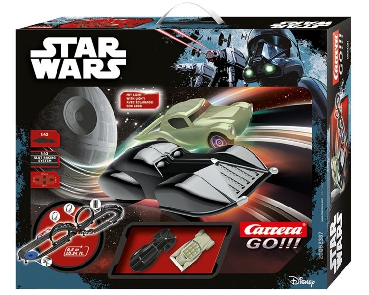 CARRERA - Autodráha GO 62387 Star Wars