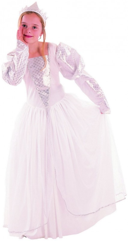 CASALLIA - Karnevalový kostým Bílá krásná princezna (M)