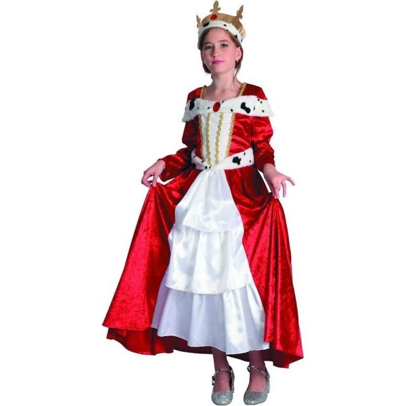 CASALLIA - Kostým Královna s korunou S