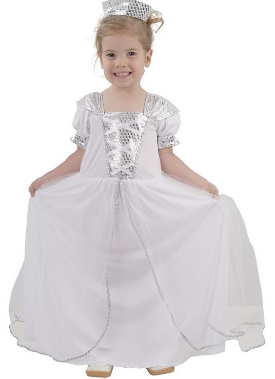 CASALLIA - Kostým Malá bílá princezna