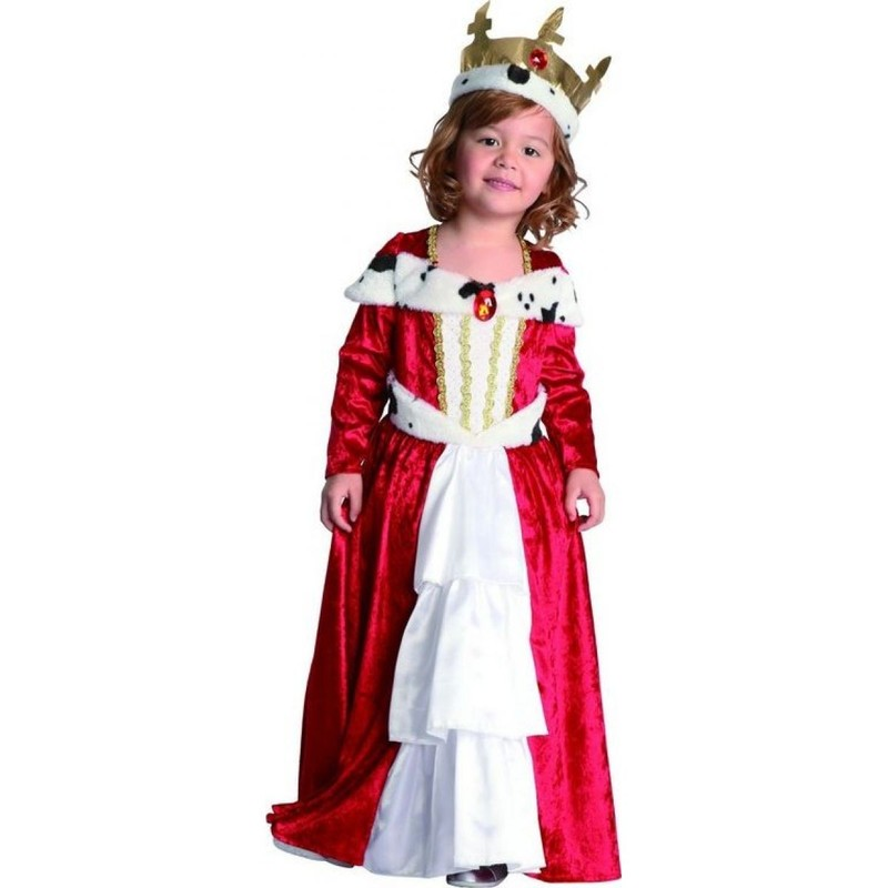 CASALLIA - Kostým Malá královna s korunou