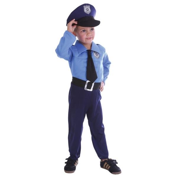 CASALLIA - Karnevalový kostým Malý policista Casallia