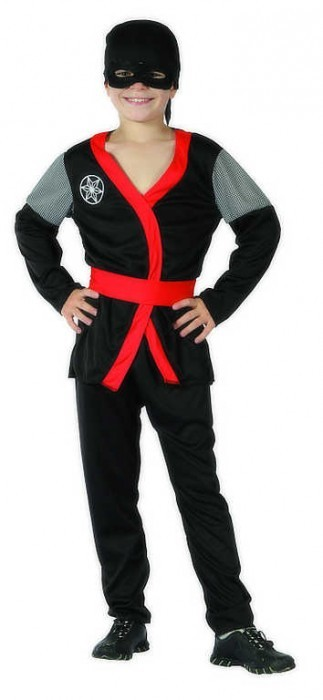 CASALLIA - Kostým Ninja s páskem L