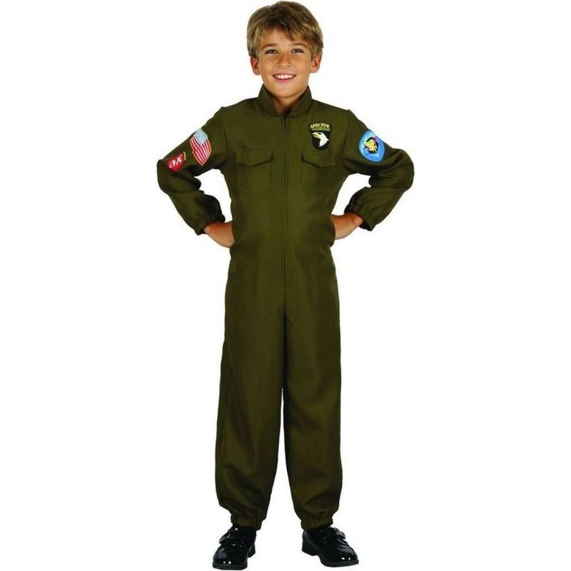 CASALLIA - Kostým Pilot s nášivkami L