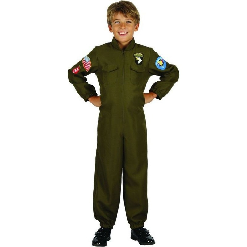 CASALLIA - Kostým Pilot s nášivkami M